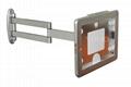 挂墙折叠伸缩IPAD支架 平板电脑防盗支架 带锁支架 2