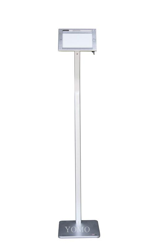 Workstation iPad MINI Kiosk Stand Ipad Bracket Locking Clamshell for Trade Shows 6