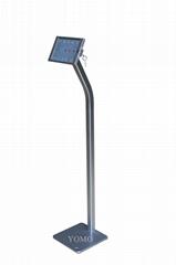 Workstation iPad MINI Kiosk Stand Ipad Bracket Locking Clamshell for Trade Shows