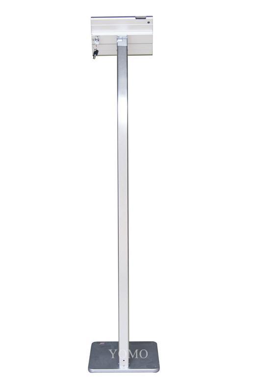 ipad MINI平板落地支架 平板電腦展示支架 鋁合金防盜支架 9