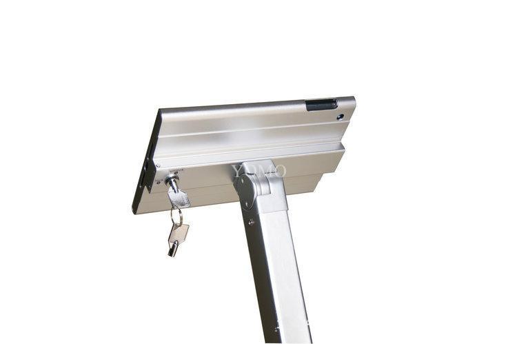 ipad MINI平板落地支架 平板电脑展示支架 铝合金防盗支架 11