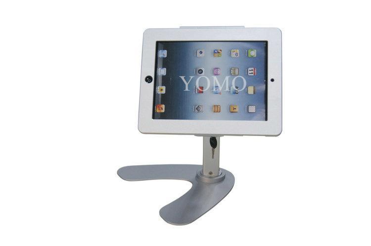 便携式苹果平板电脑桌面展示支架 带锁防盗支架 2