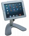 便攜式蘋果平板電腦桌面展示支架 帶鎖防盜支架 3