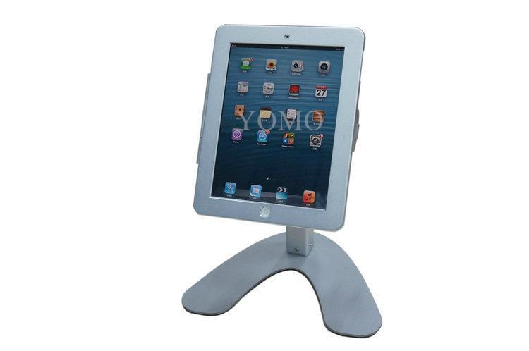 便携式苹果平板电脑桌面展示支架 带锁防盗支架 4