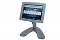 便携式苹果平板电脑桌面展示支架 带锁防盗支架 5