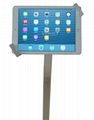 Workstation iPad Kiosk Stand Ipad Bracket Locking Clamshell for Trade Shows
