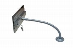 iPad懒人支架 平板挂墙展示支架 带锁防盗支架