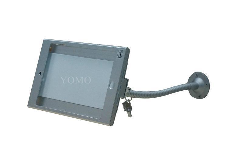 iPad懶人支架 平板挂牆展示支架 帶鎖防盜支架 2