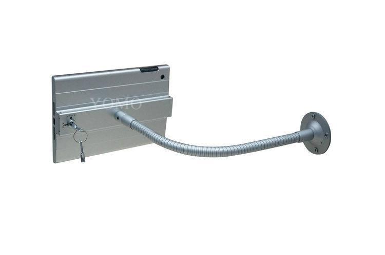 iPad懶人支架 平板挂牆展示支架 帶鎖防盜支架 7