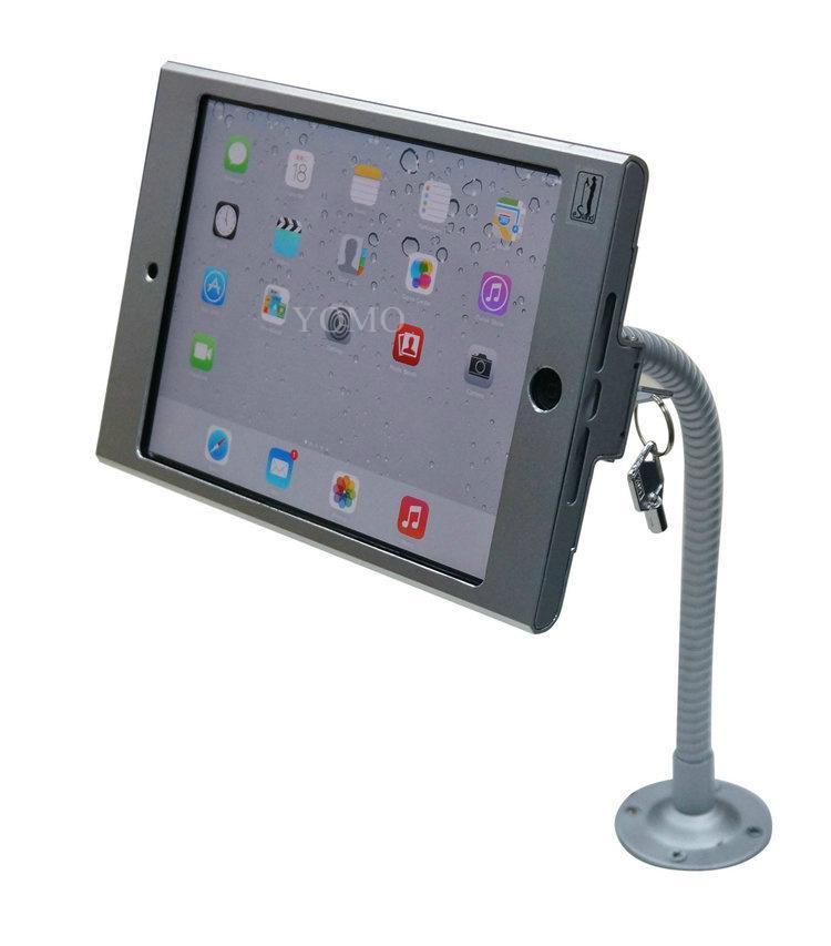 iPad懒人支架 平板挂墙展示支架 带锁防盗支架 9
