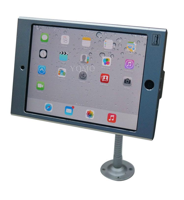 iPad懶人支架 平板挂牆展示支架 帶鎖防盜支架 11