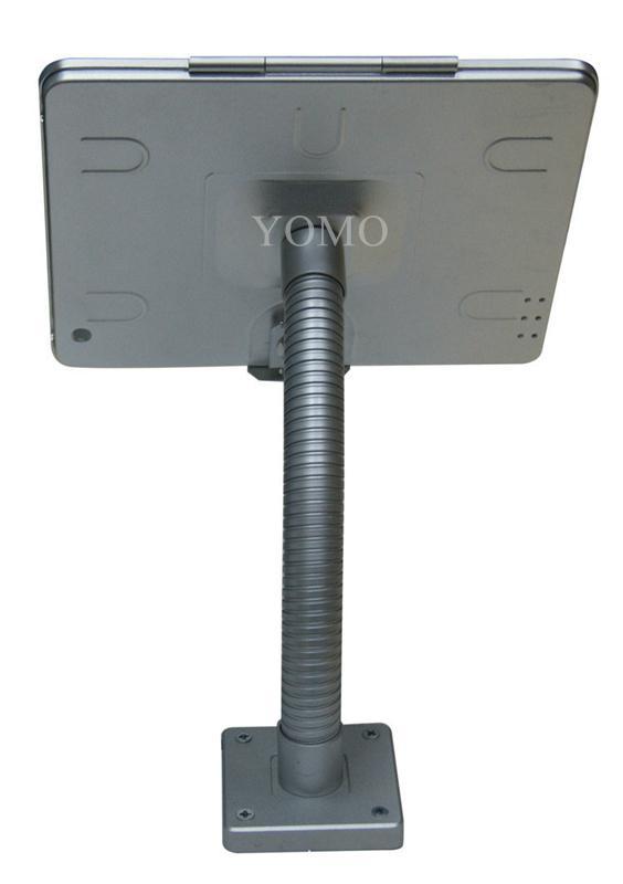 粗軟管挂牆ipad支架 帶鎖防盜展示支架 點餐支架批發 7