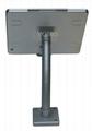 粗软管挂墙ipad支架 带锁防盗展示支架 点餐支架批发 7