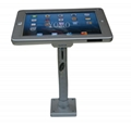 Wall-mounted Ipad Kiosk,wall mount android tablet enclosure