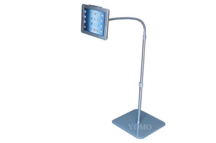 Adjustable iPad Kiosk Stand Ipad Bracket Locking Clamshell for Trade Shows 1