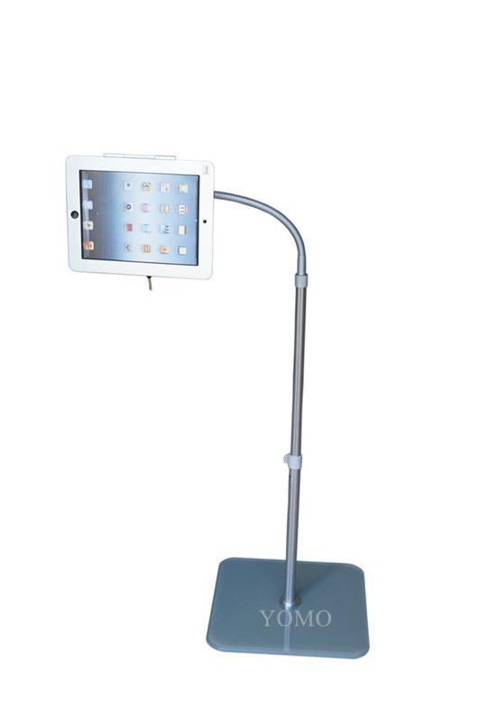 Adjustable iPad Kiosk Stand Ipad Bracket Locking Clamshell for Trade Shows 2