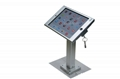Square shape base desktop bracket for Ipad ,Portable Desktop Tablet Mount