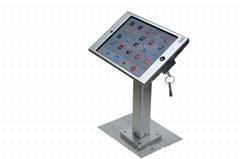 Square shape base desktop bracket for Ipad ,Portable Desktop Tablet Mount