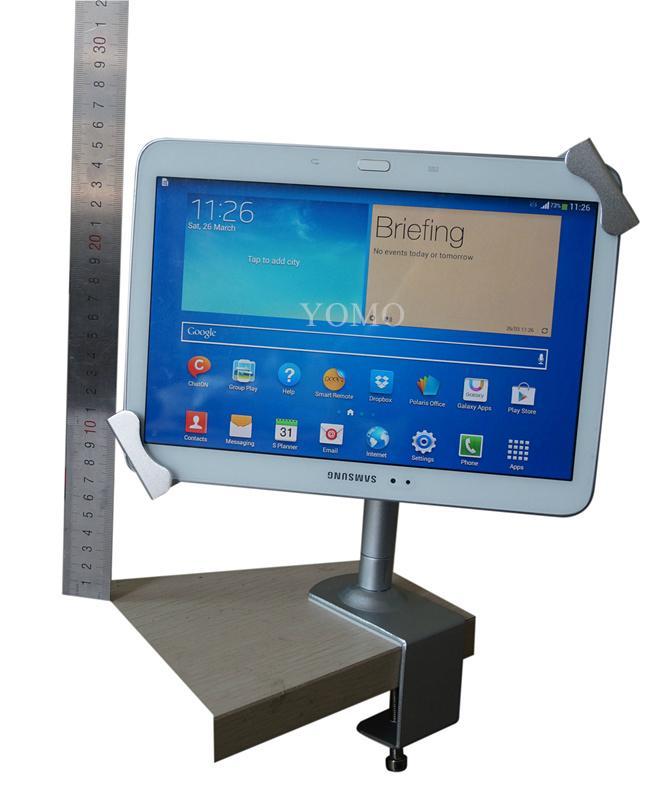 點餐平板電腦支架 iPad金屬支架 夾桌面平板點餐支架 4