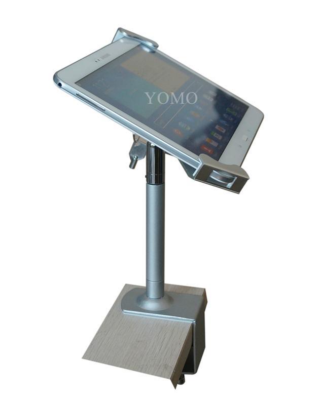 點餐平板電腦支架 iPad金屬支架 夾桌面平板點餐支架 10