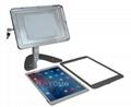 桌面带锁平板 铝合金防盗展示平板 12.9寸iPad proV型底桌面支架 2