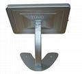 桌面带锁平板 铝合金防盗展示平板 12.9寸iPad proV型底桌面支架 5