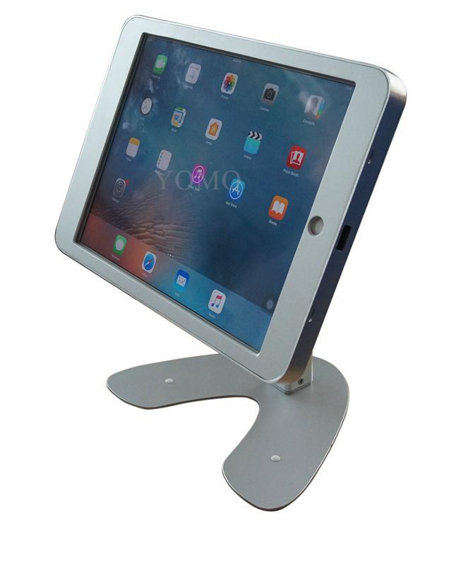 桌面带锁平板 铝合金防盗展示平板 12.9寸iPad proV型底桌面支架 6