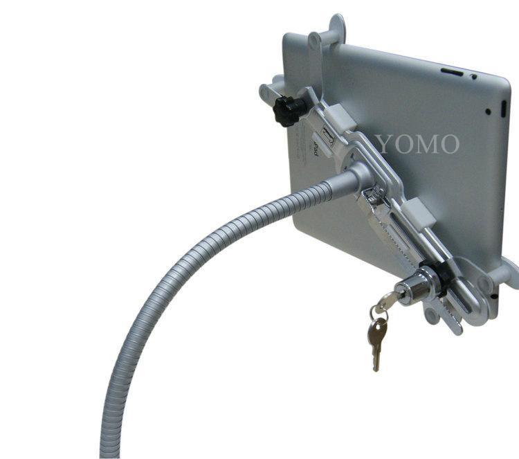 金属懒人平板电脑支架带锁防盗 ipad懒人桌面平板支架 1