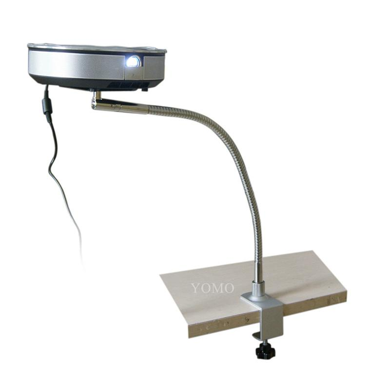 玻璃底座落地桌面两用版投影仪支架 投影仪落地支架 15