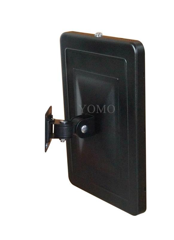 """挂墙万向调节iPad Pro12.9""""专属定制支架带锁铝合金防盗展示平板 5"""