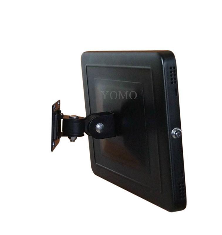 """挂墙万向调节iPad Pro12.9""""专属定制支架带锁铝合金防盗展示平板 6"""