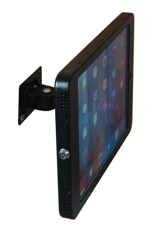 """挂墙万向调节iPad Pro12.9""""专属定制支架带锁铝合金防盗展示平板 10"""