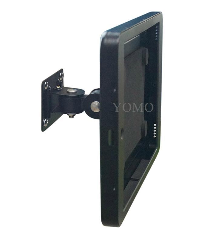 """挂墙万向调节iPad Pro12.9""""专属定制支架带锁铝合金防盗展示平板 11"""