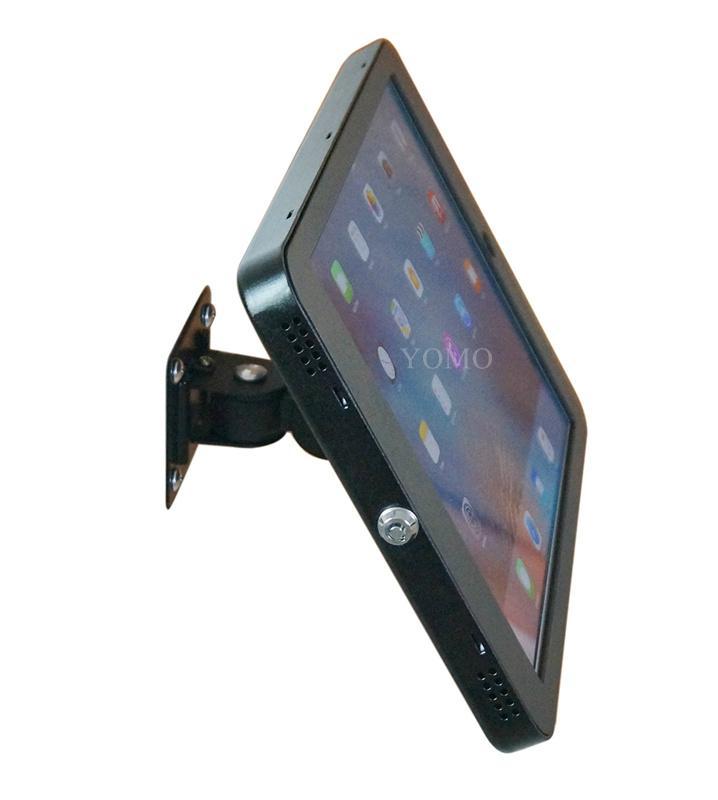 """挂墙万向调节iPad Pro12.9""""专属定制支架带锁铝合金防盗展示平板 1"""