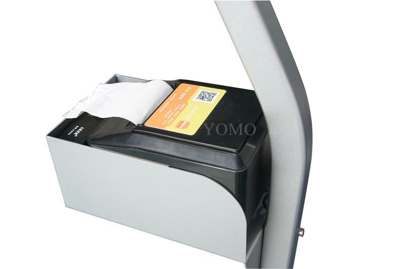 平板iPad落地支架 医院餐馆排队叫号 打印机托盘 2