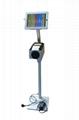 Workstation iPad Kiosk Stand Ipad Bracket Locking Clamshell for Hotel Restaurant