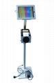 平板iPad落地支架 醫院餐館排隊叫號 打印機托盤 4