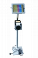 Workstation iPad Kiosk Stand Ipad Bracket Locking Clamshell for Hotel Restaurant 4