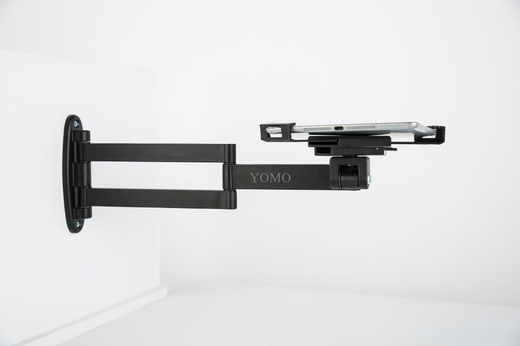 挂墙折叠伸缩IPAD支架 平板电脑防盗支架 带锁支架 14