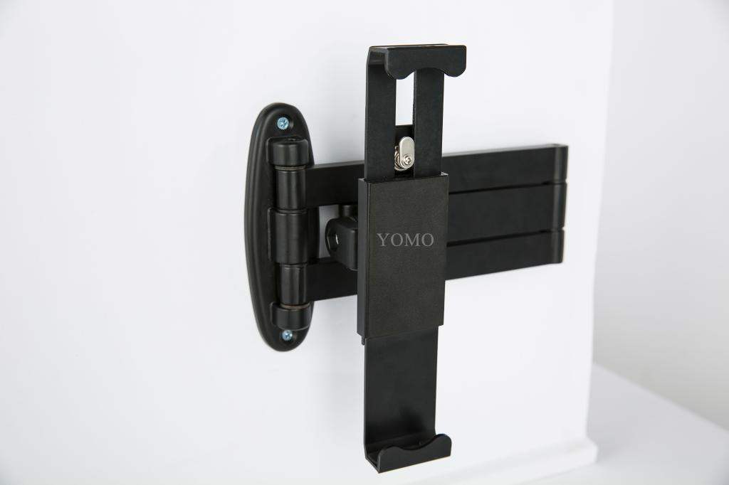挂墙折叠伸缩IPAD支架 平板电脑防盗支架 带锁支架 19