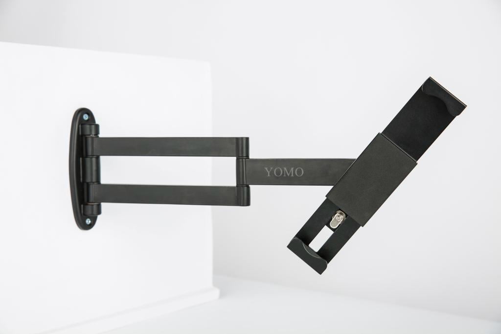 挂墙折叠伸缩IPAD支架 平板电脑防盗支架 带锁支架 20