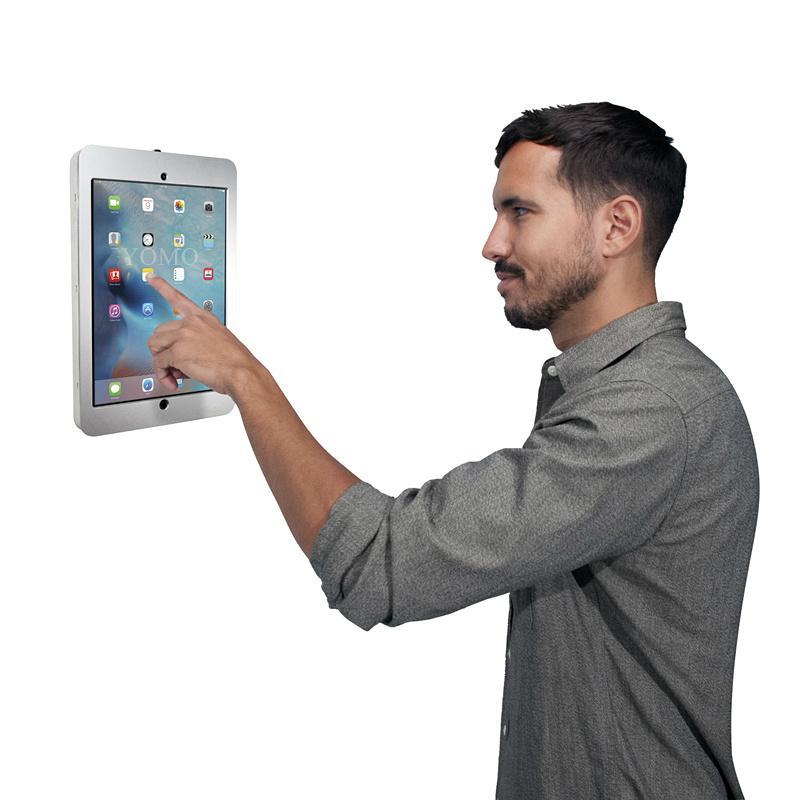 Wall-mounted Ipad Brackets/Kiosk,Wall Mount Tablet Kiosks for Schools Hospitals 1