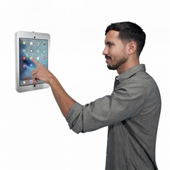 Wall-mounted Ipad Brackets/Kiosk,Wall Mount Tablet Kiosks for Schools Hospitals