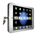 Wall-mounted Ipad Brackets/Kiosk,Wall Mount Tablet Kiosks for Schools Hospitals 7