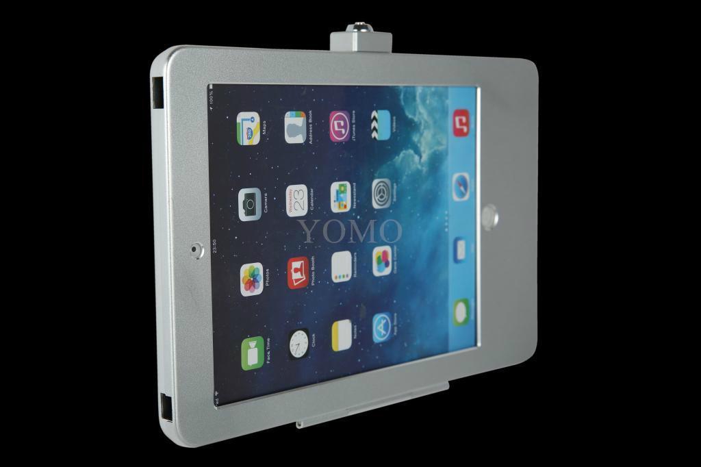 藏线IPAD支架 贴墙展示架 充电平板支架螺丝固定 1