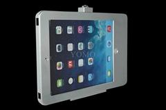 藏線IPAD支架 貼牆展示架 充電平板支架螺絲固定