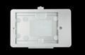 藏線IPAD支架 貼牆展示架 充電平板支架螺絲固定 5