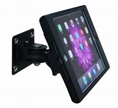桌面带锁平板 铝合金防盗展示平板 挂墙万向调节iPad mini支架