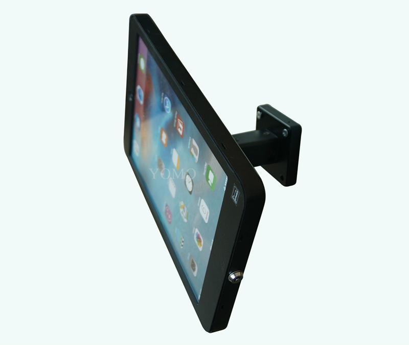Wall-mounted Ipad Kiosk,wall  kiosk for 12.9'' IPAD PRO tablet 4
