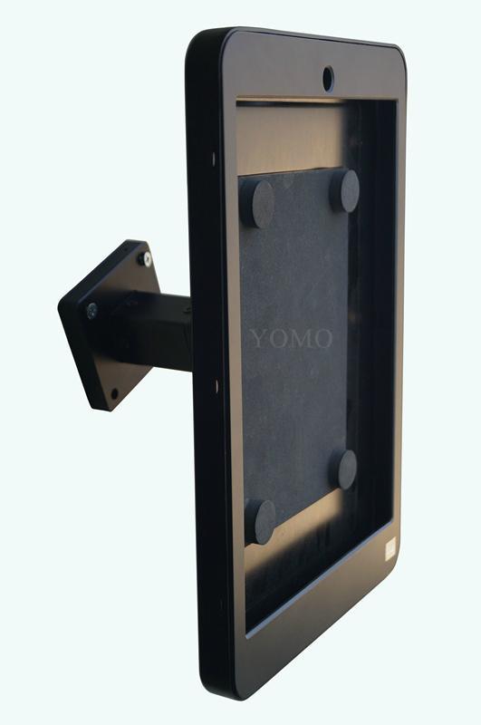 Wall-mounted Ipad Kiosk,wall  kiosk for 12.9'' IPAD PRO tablet 8